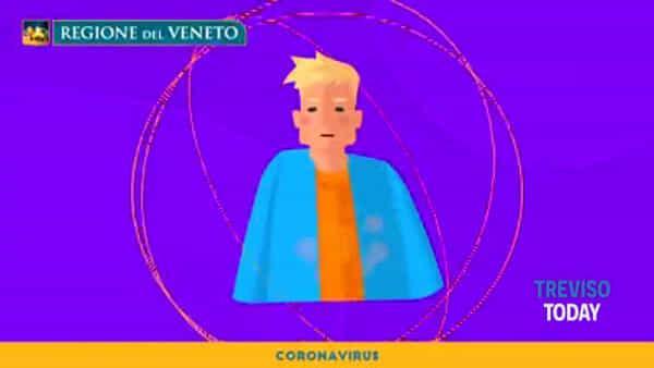 Coronavirus, ecco il video informativo della Regione Veneto
