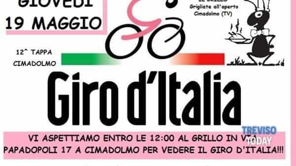 """Giro d'Italia 2016 - Festeggiamenti al """"Grillo"""" di Cimadolmo"""