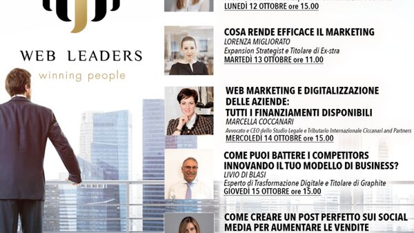 Al via la Settimana del business: webinar gratuiti sul web marketing