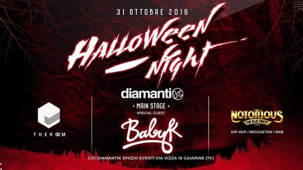 Halloween night - w/ BABY K and many more