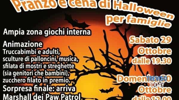 Halloween 2016 per bambini e famiglie @ Antica Osteria Zanatta
