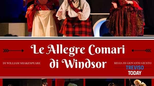 """""""Le allegre comari di Windsor"""": il Teatro dei pazzi porta in scena Shakespeare"""