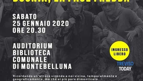 Bosnia, la pace fredda: se ne parla a Montebelluna