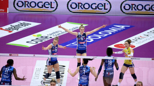 Imoco Volley in campo