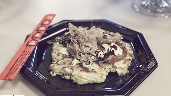 Made in Osaka: okonomiyaki e takoyaki