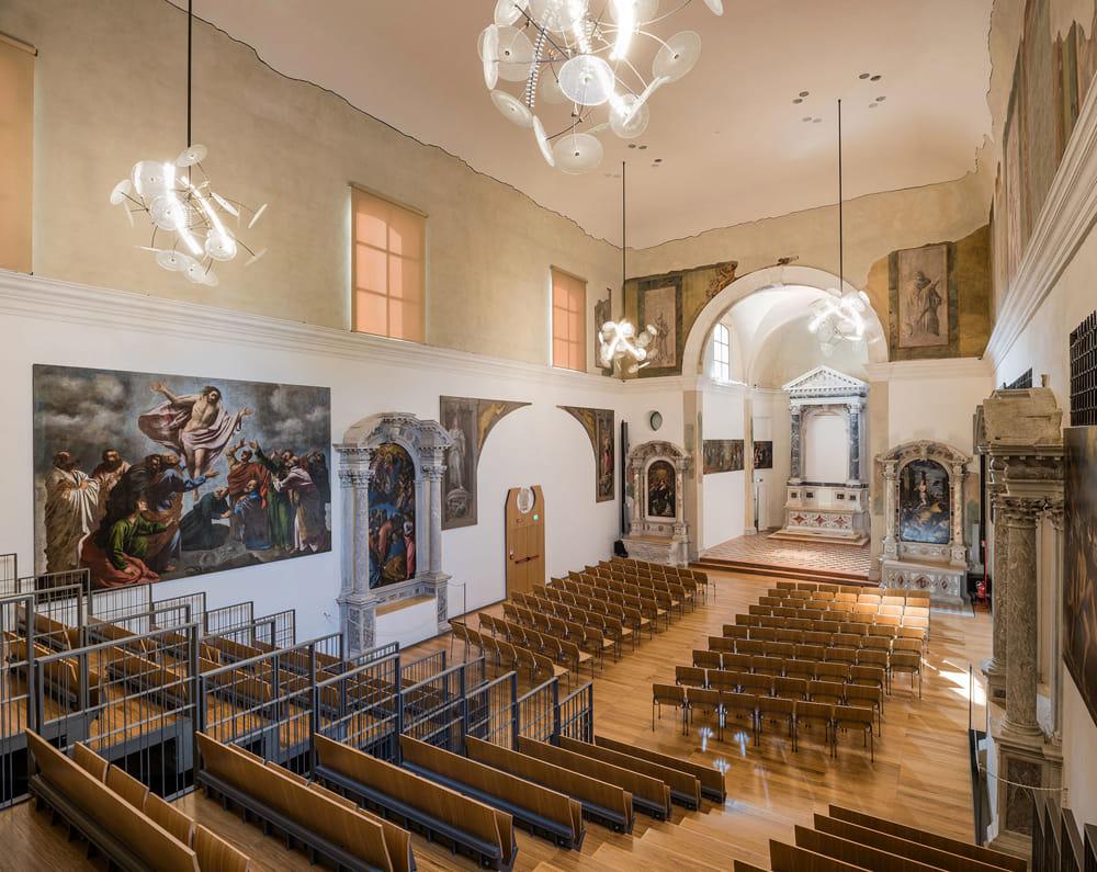 In foto: la chiesa di San Teonisto
