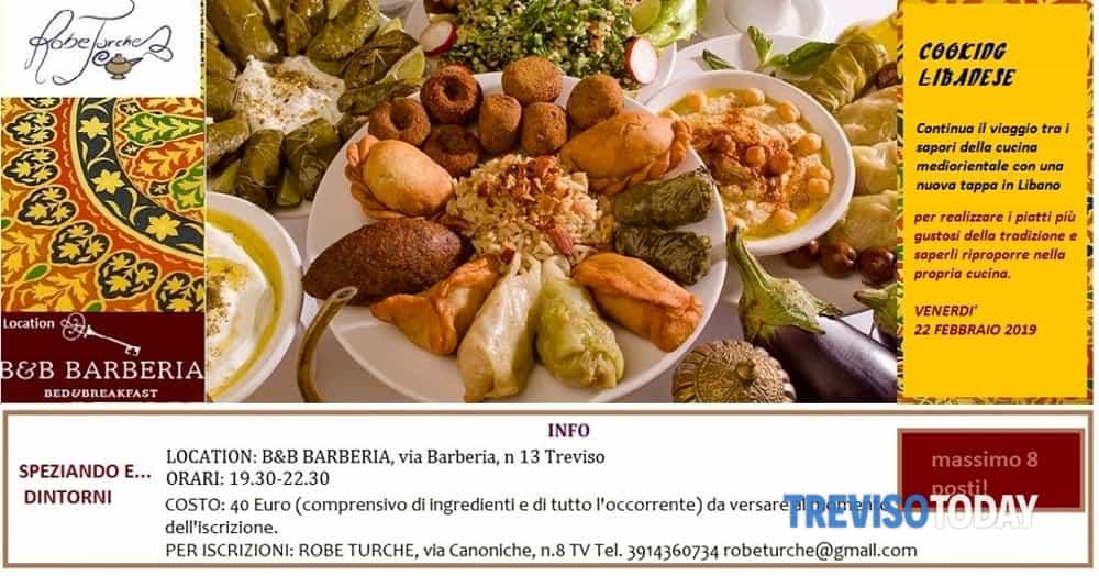 speziando e...dintorni: corso di cucina libanese Eventi a Treviso
