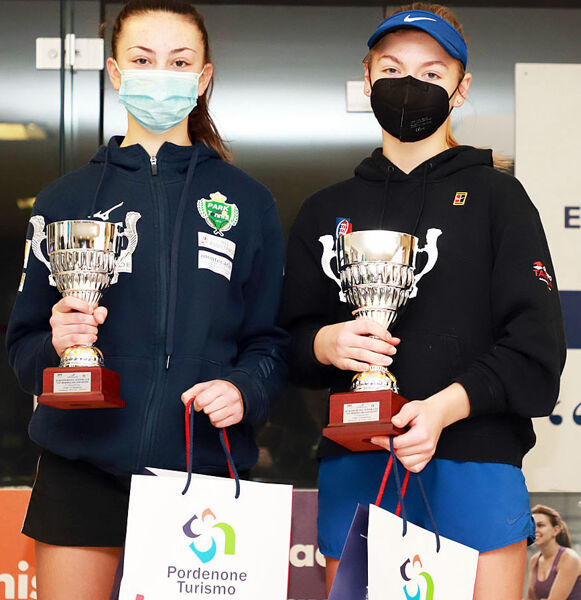 Nicole IOSIO e Margherita Marcon Under 16 Junior Cup Cordenons